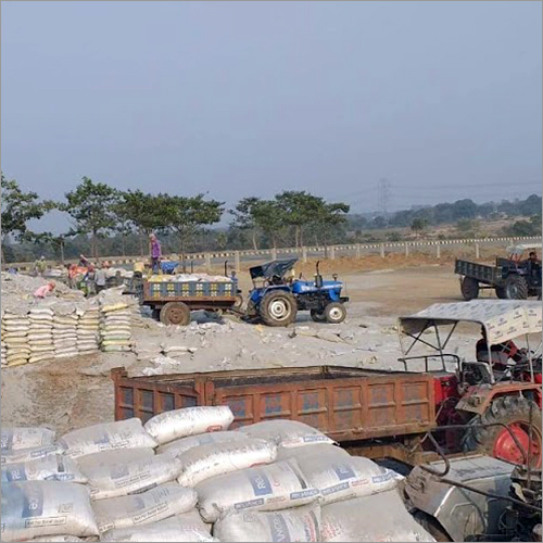 Industrial Ash Minerals  Powder
