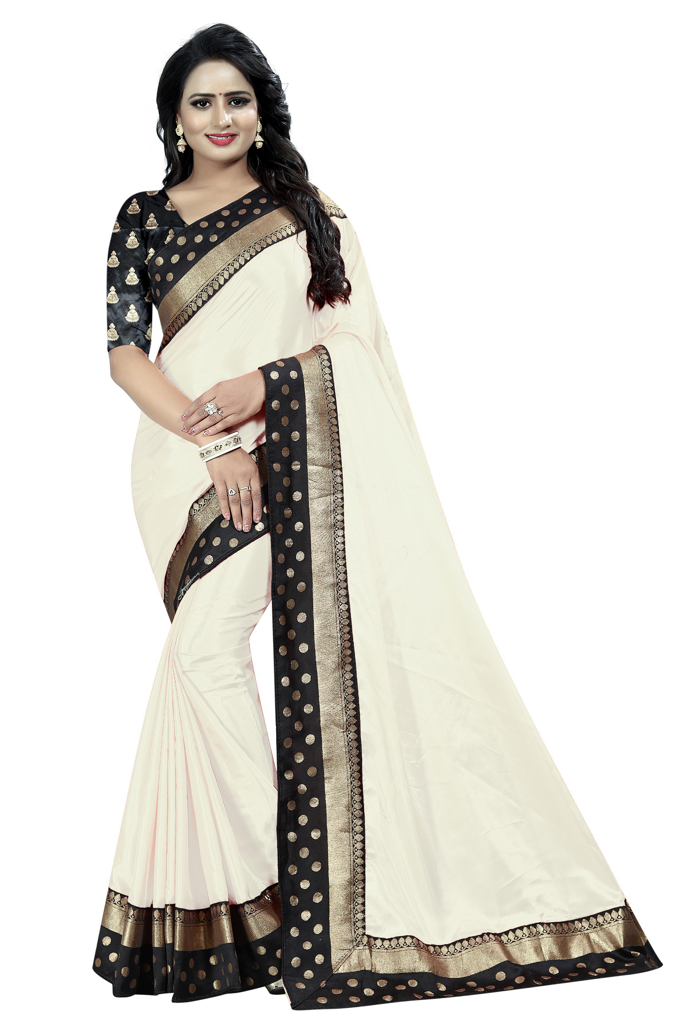 Paper Goli Silk Saree