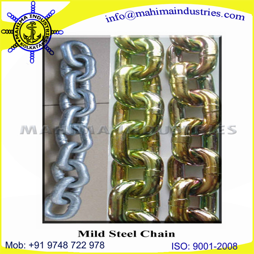 mild steel chain(plated)