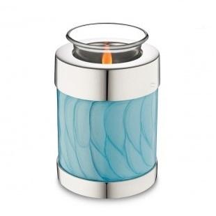 Tealight Pearl Blue