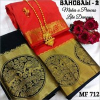Bahubali Kanjivaram Silk Saree