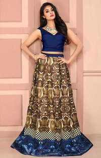 Part wear Lehengas