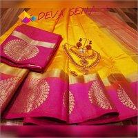 Devsena Kanjivaram Silk Saree