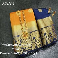 Jungle butta Kanjivaram Silk Saree
