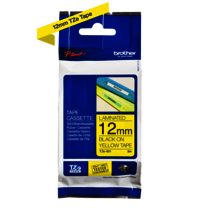 Brother Genuine Black on Yellow P-Touch Tape(TZe-631)