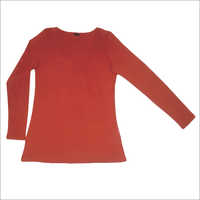 Ladies Knitted Full Sleeves Top