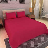 Satin Stripe Double Bed Sheet