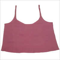 Ladies Stripped Tank Crop Top