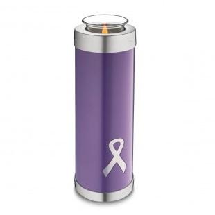 Tealight Tall Awareness Purple