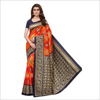 New Saanvika Printed silk saree
