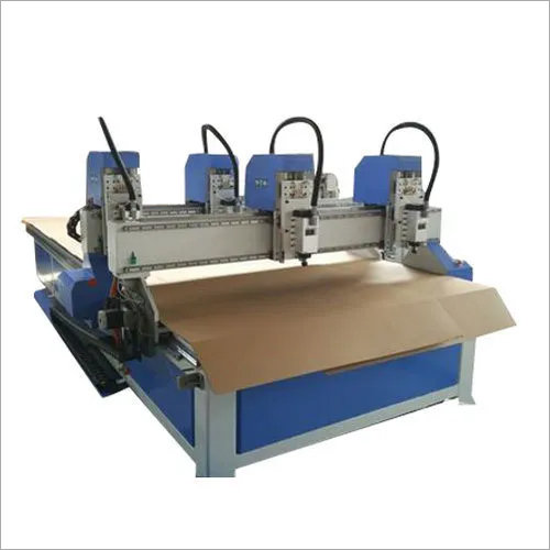 Four Cylinder CNC Wood Router Carving Machine