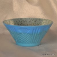 GLASS SILVER FINISH BOWL