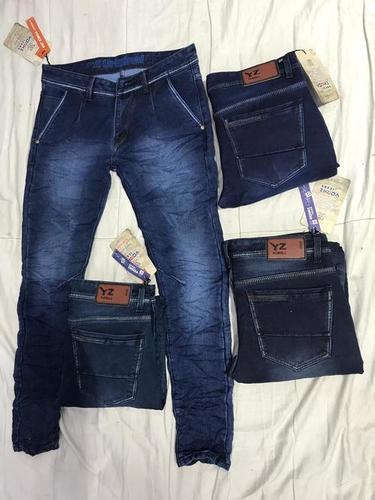 Mens basic balloon jeans