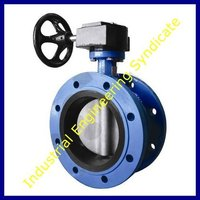 Flage end butterfly valve
