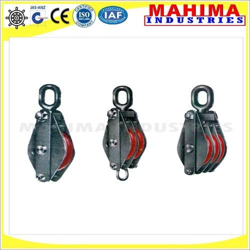 wire loop pulley block