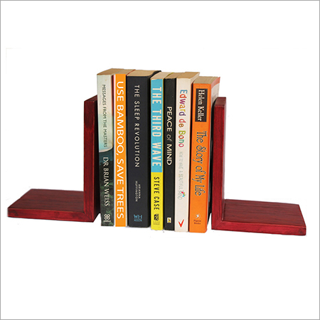 Rosewood Bamboo Bookend