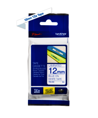 Brother Genuine Blue on White P-Touch Tape(TZe-233)