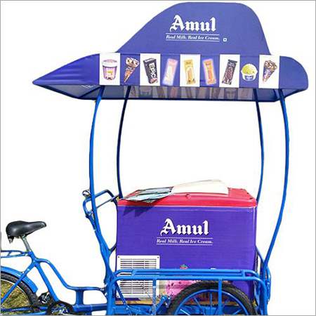Printed Ice Cream Trolley
