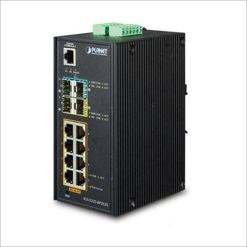 Industrial 8 Port POE Switch