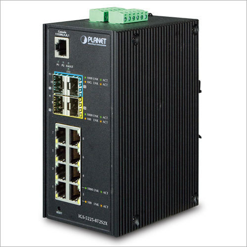 Industrial Layer 2 Managed Gigabit Switch