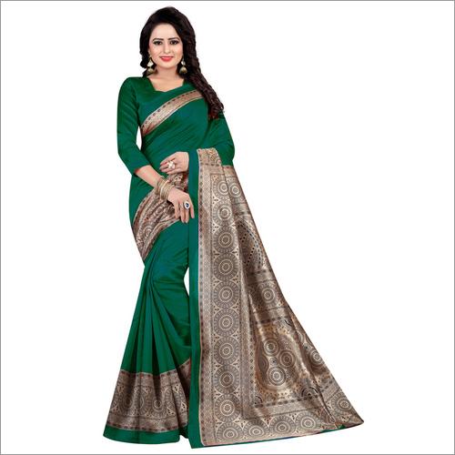 Kashmiri Cotton silk saree