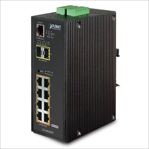 Industrial Power Over Ethernet Switch With SFP