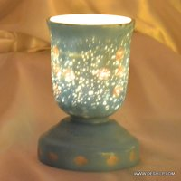 Candle Holder metal glass hurricane