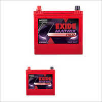 Exide Matrix Red