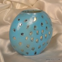 COLOR OPAL SHAPE FLOWER VASE