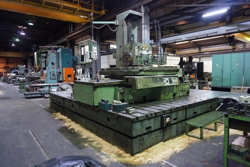 UNION BFP 130/5 HORIZONTAL BORING MACHINE
