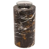 King Gold Marble Tealight Urn for Ashes