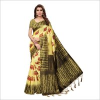 Nagmaa Cotton silk saree
