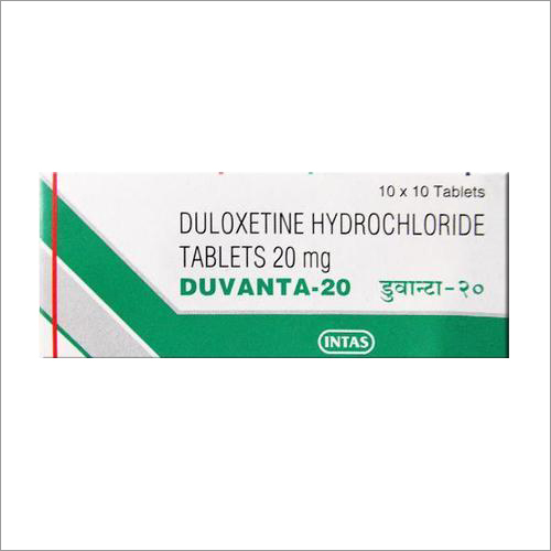 20 mg Duloxetine Hydrochloride Tablets
