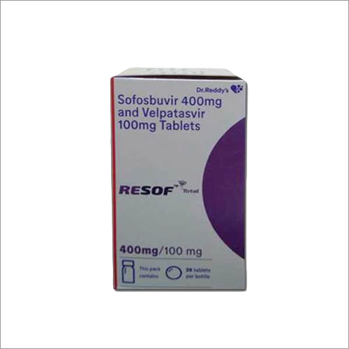 Sofosbuvir 400 mg and Velpatasvir 100 mg Tablets