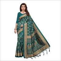Pattu Jhalar Silk Saree