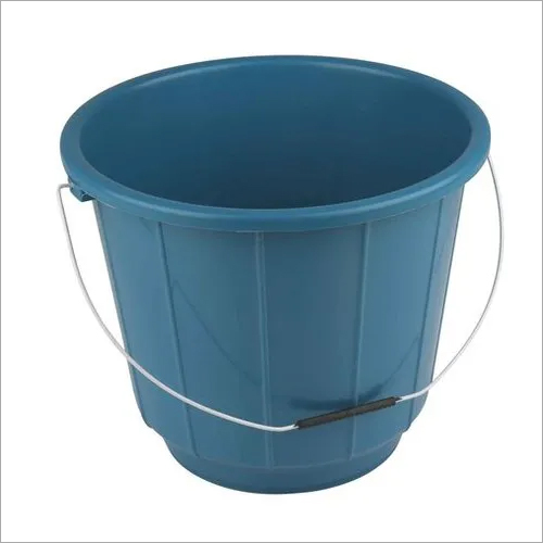 8 Ltr Steel Handle Plastic Bucket