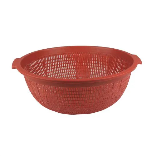 Vegetable Round Plastic Basket