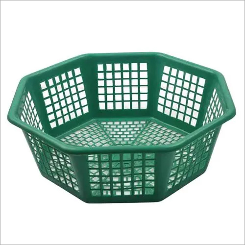 Octagonal Plastic Basket