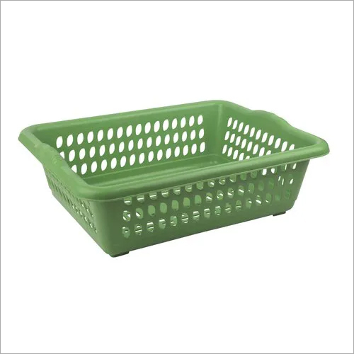 Rectangular Hollow Drain Plastic Basket