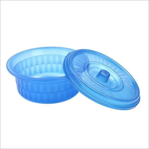 Round Plastic Lunch Box