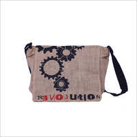 Mini Laptop Jute Bag