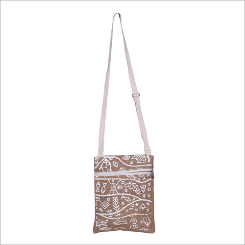 Ladies Jute Sling Bag