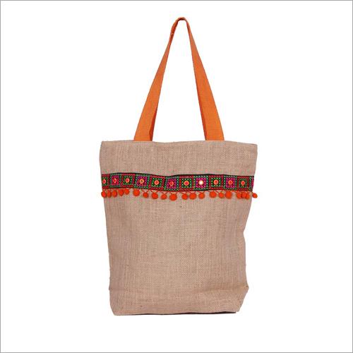 Eco Friendly Jute Messenger Bag