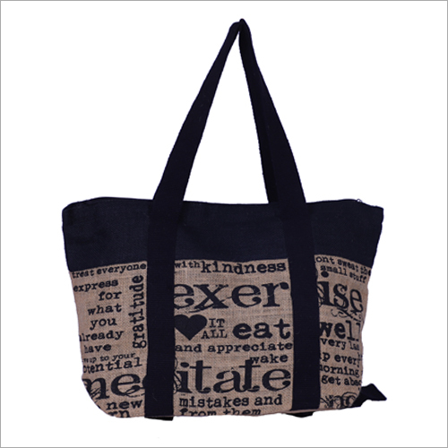Exclusive Jute Embroidered Bag