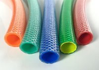 Color Transparent Braided Pipe