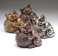 Playful Kitten Cat Urn