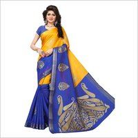 Crystal Cotton silk saree