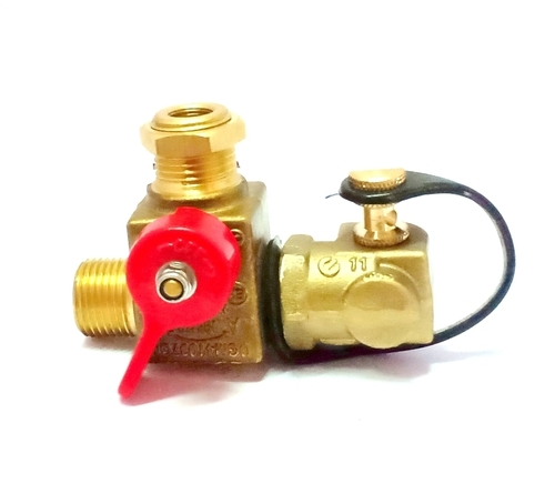 Compressed Natural Gas Filling Valve