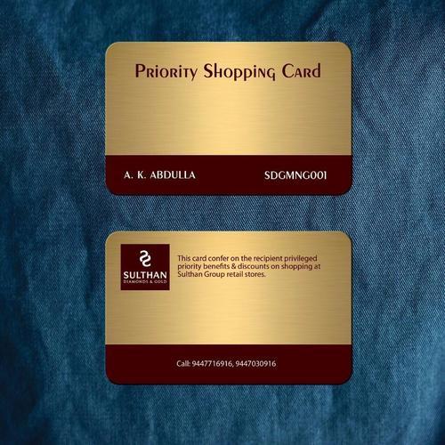 PVC Gold Card