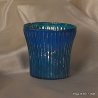 SMALLEST T LIGHT CANDLE VOTIVE WITH SILVER FINISH